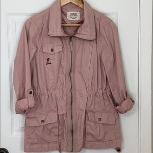 Urban Outfitters blush pink Large Utility Jacket
